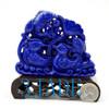 Lapis Lazuli Lovebirds Statuette
