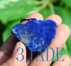 Natural Lapis Lazuli Gemstone Butterfly Pendant Necklace