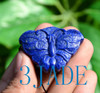 Hand Carved Lapis Lazuli Butterfly