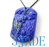 Lapis Lazuli  Tiger Pendant