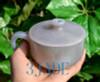 Hand Carved Stone Coffee Mug with Handle