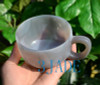 Hand Carved Stone Coffee Cup