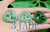 Green Jade Celtic Cross Pendant