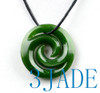Green Jade Double Koru