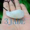hand carved jade Lotus seed pod
