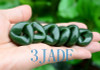Green Jade Möbius Band