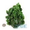 Green Nephrite Jade Flower & Fruit Basket Statue Sculpture Russian Siberian Jade Carving