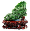 Large Jade Chinese Cabbage Sclupture