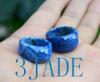 Faceted Lapis Lazuli Gemstone Ring