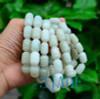 Jade Barrel Beads Bracelet