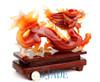 Carnelian Dragon Statue
