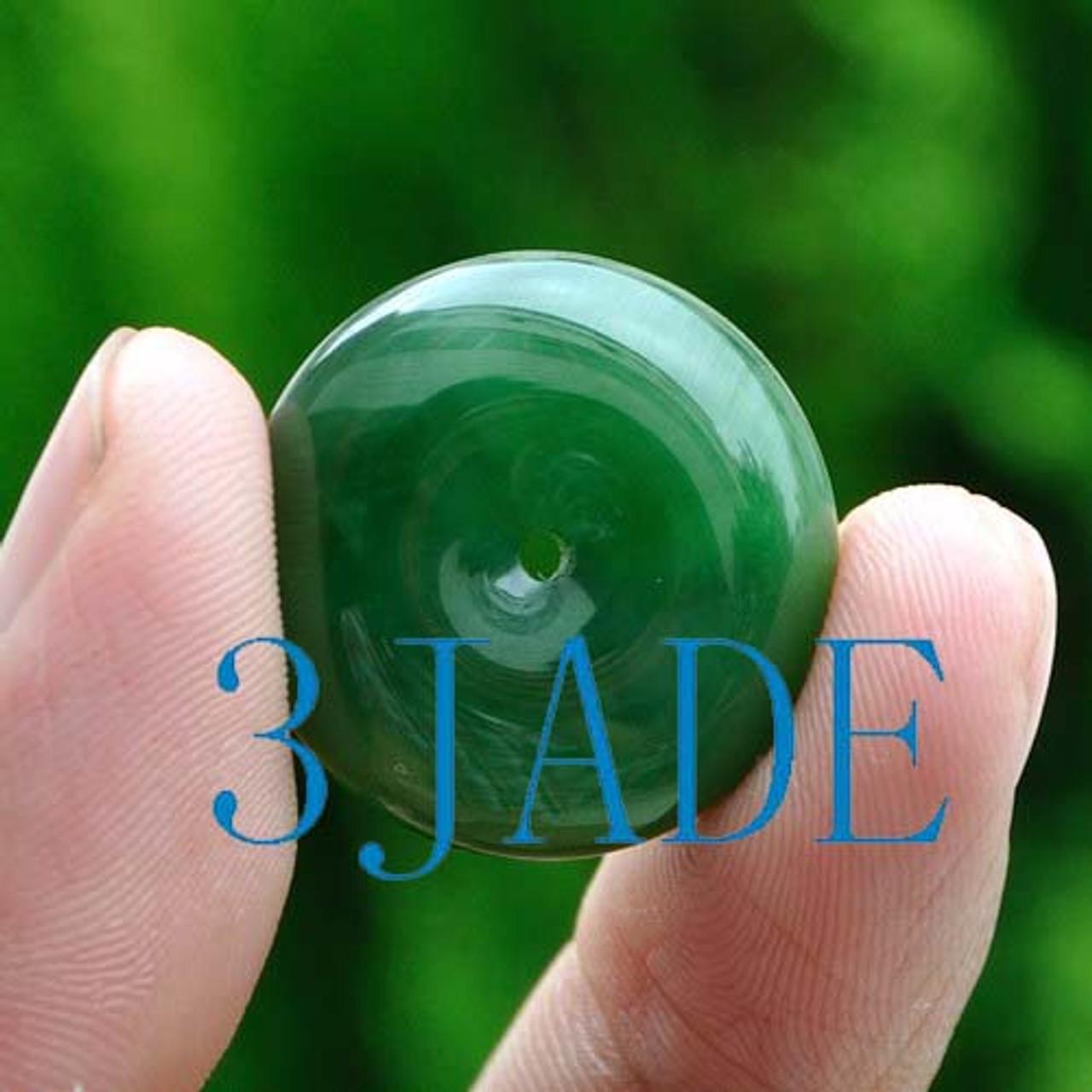 jade disc pendant