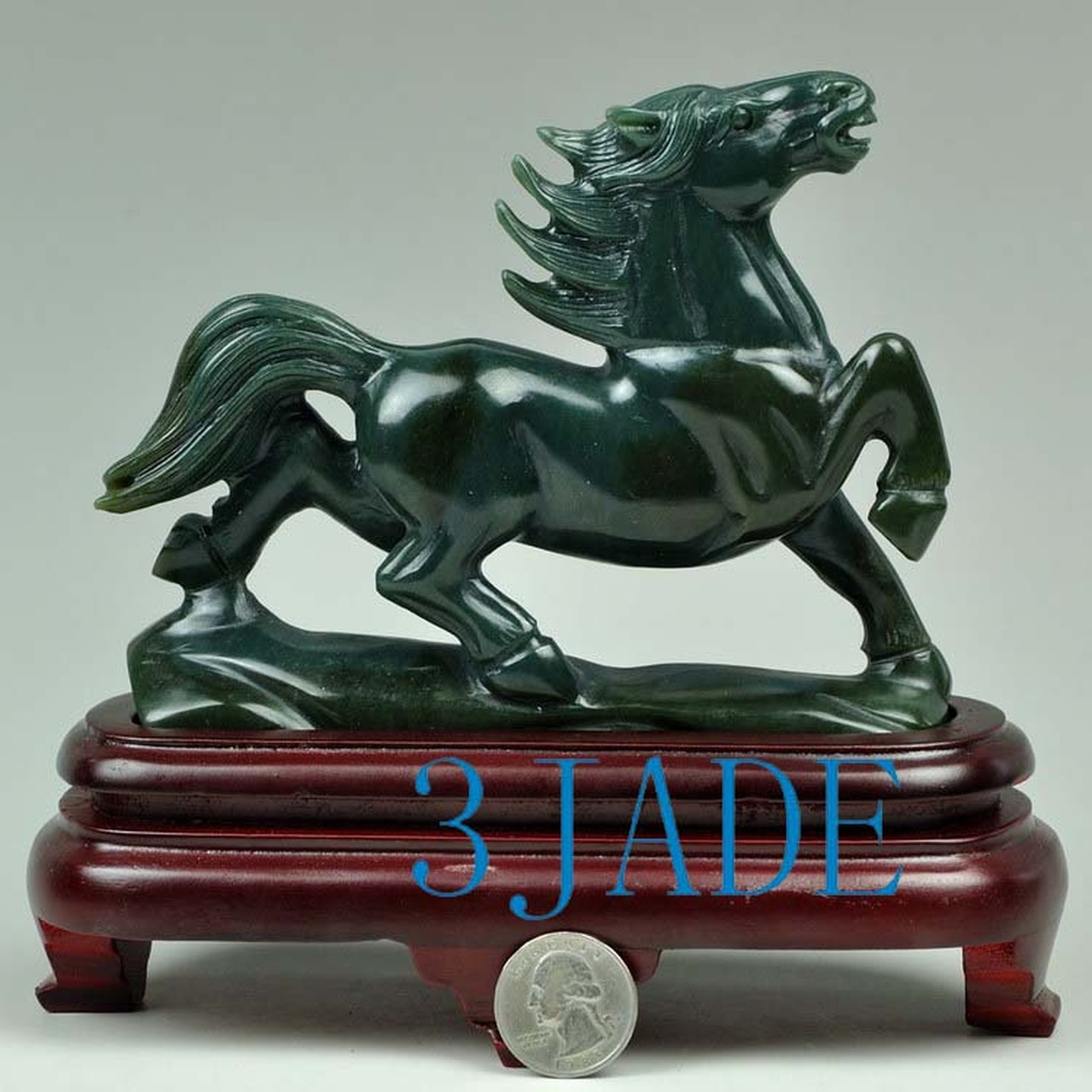 Jade Horse Carving