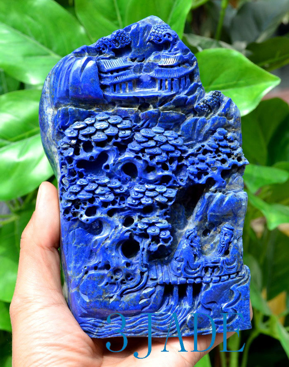 Lapis Lazuli Statue