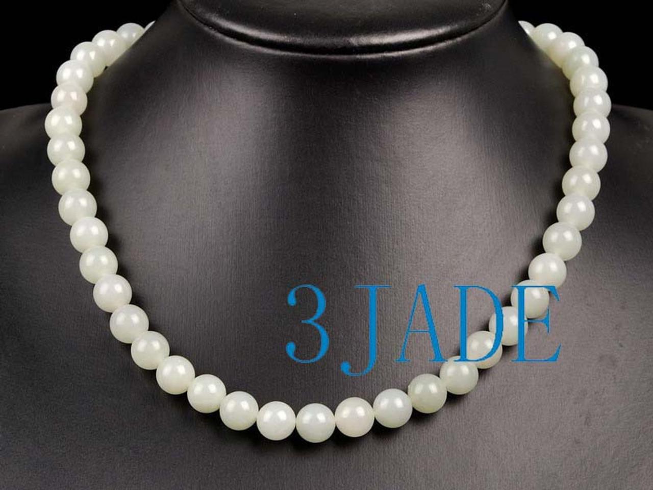 Jade Beads Necklace