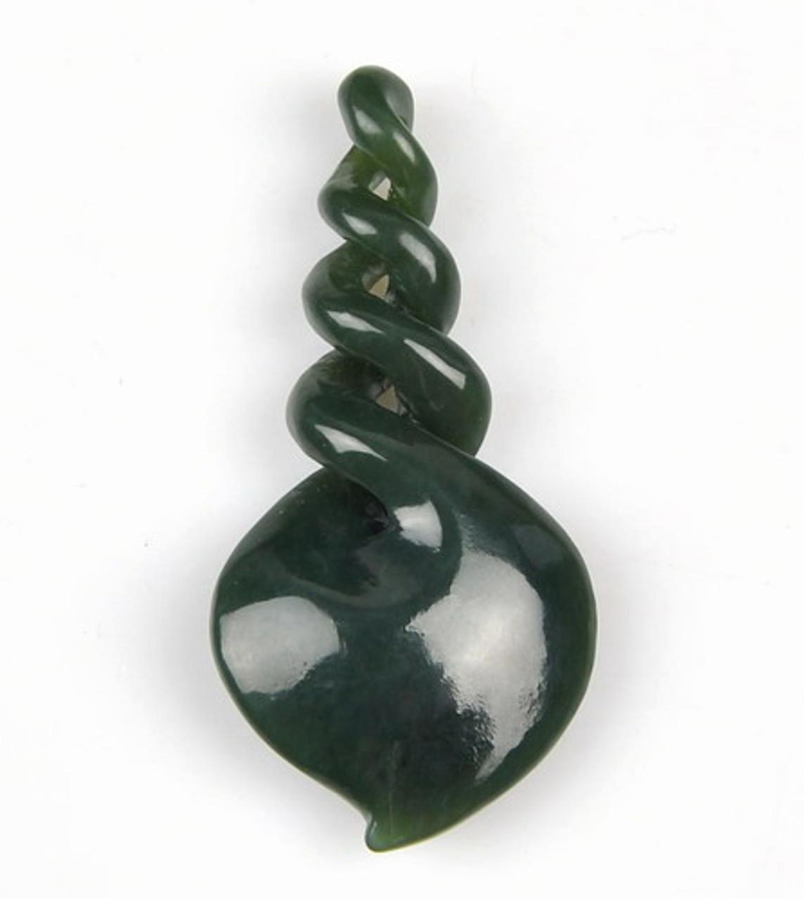 jade quad twist pendant