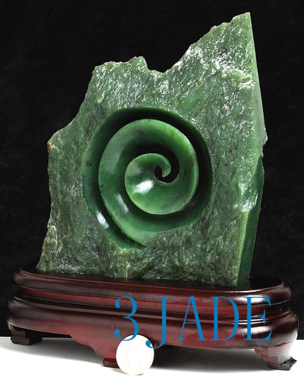 big jade Koru