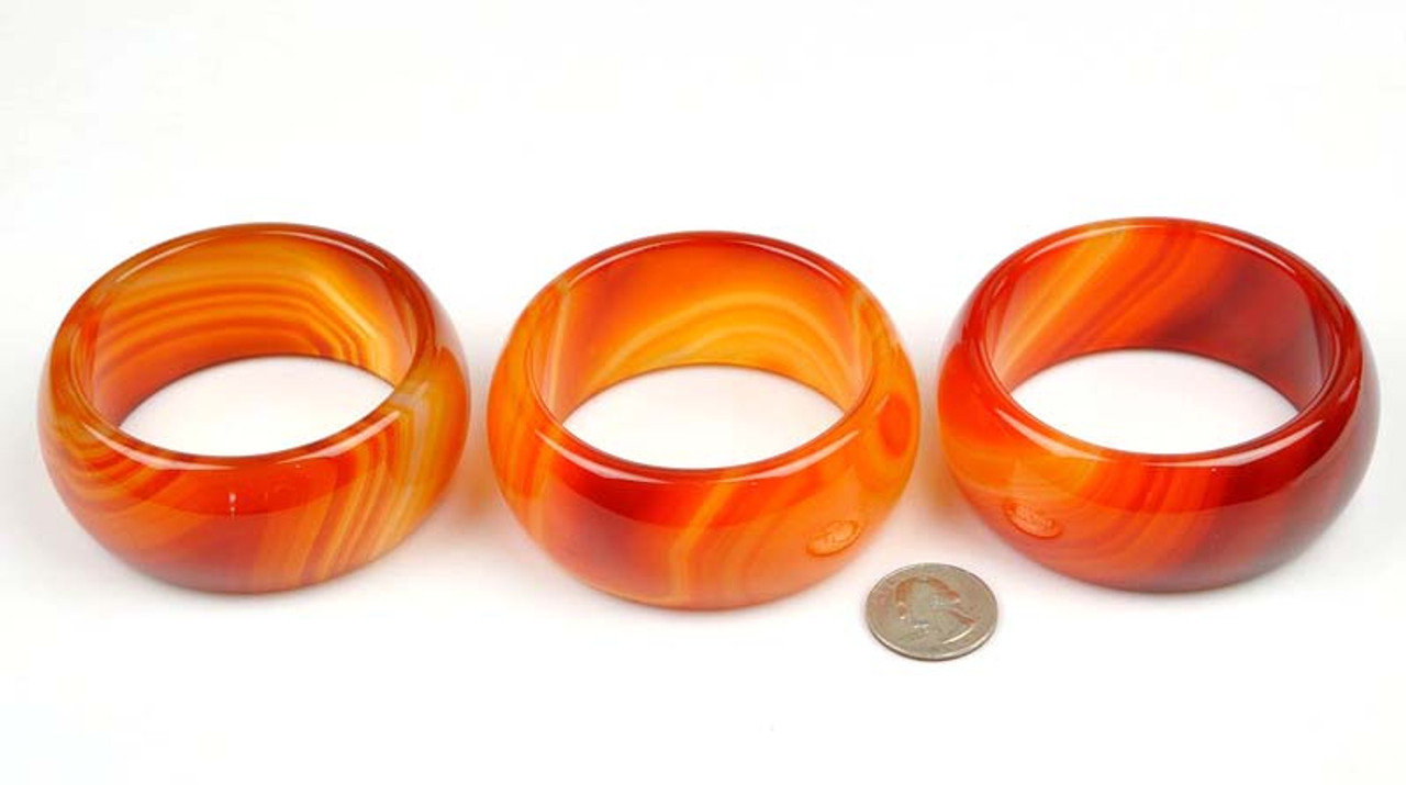 Red Agate Heavy bangle