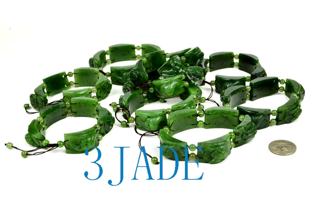 jade Five Poisonous Creatures Bracelet