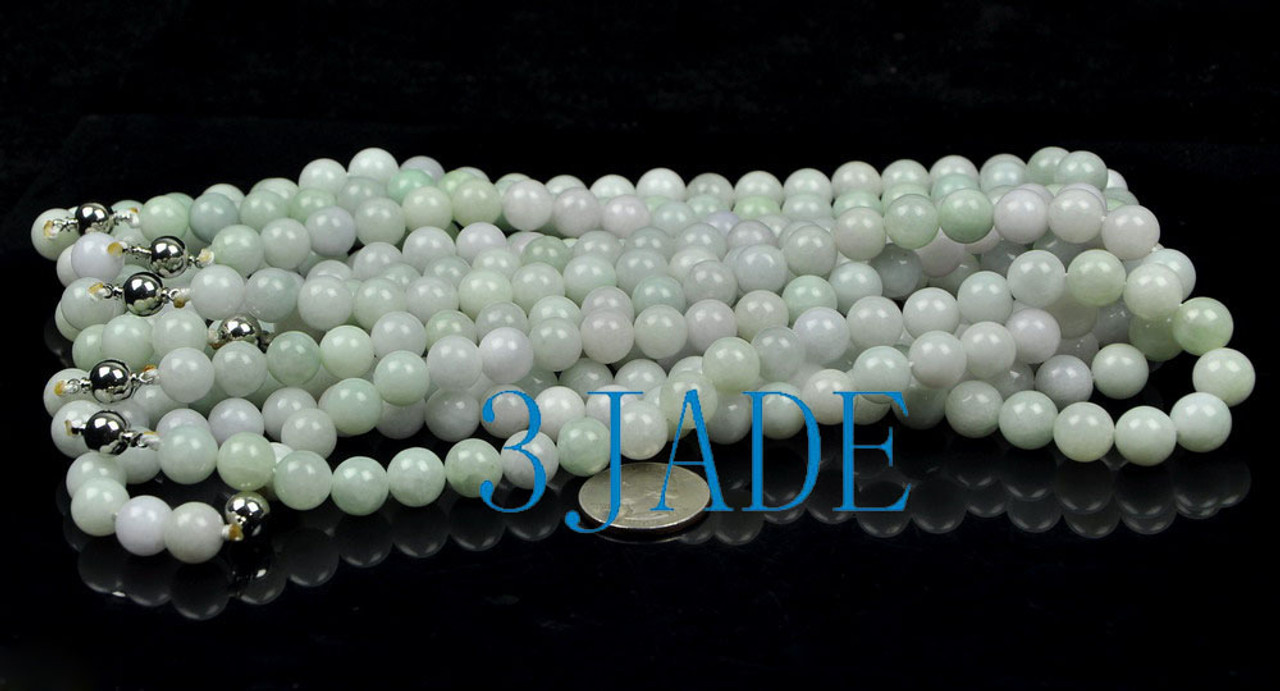 natural jadeite jade necklace