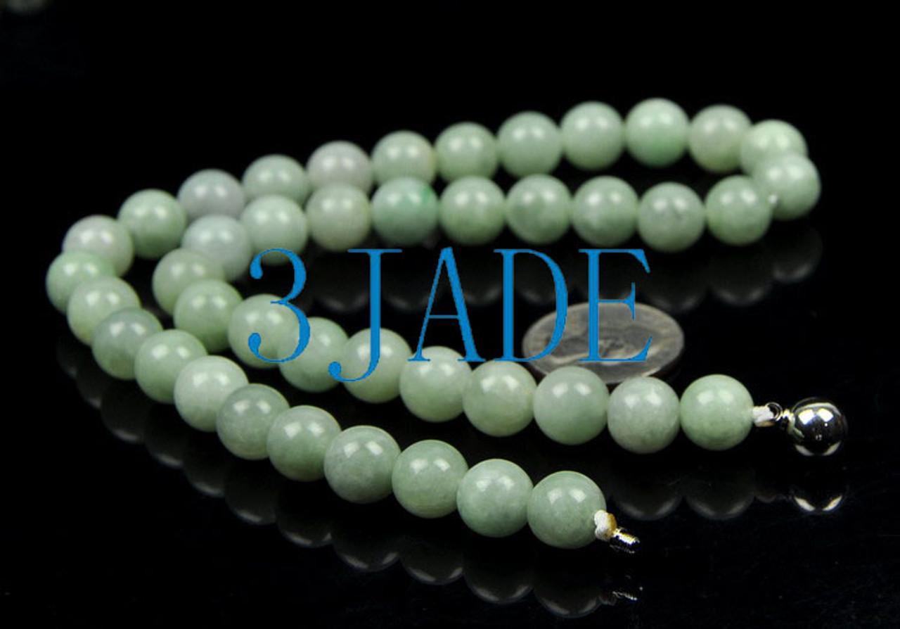 natural jadeite jade necklace