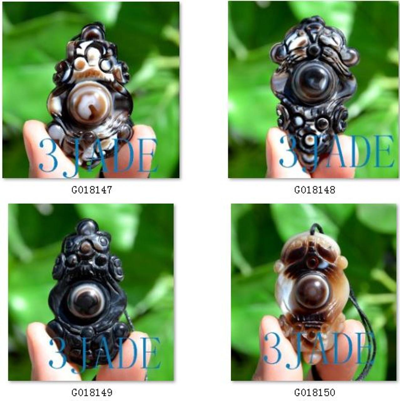 Tibetan DZI Heaven Eye bead