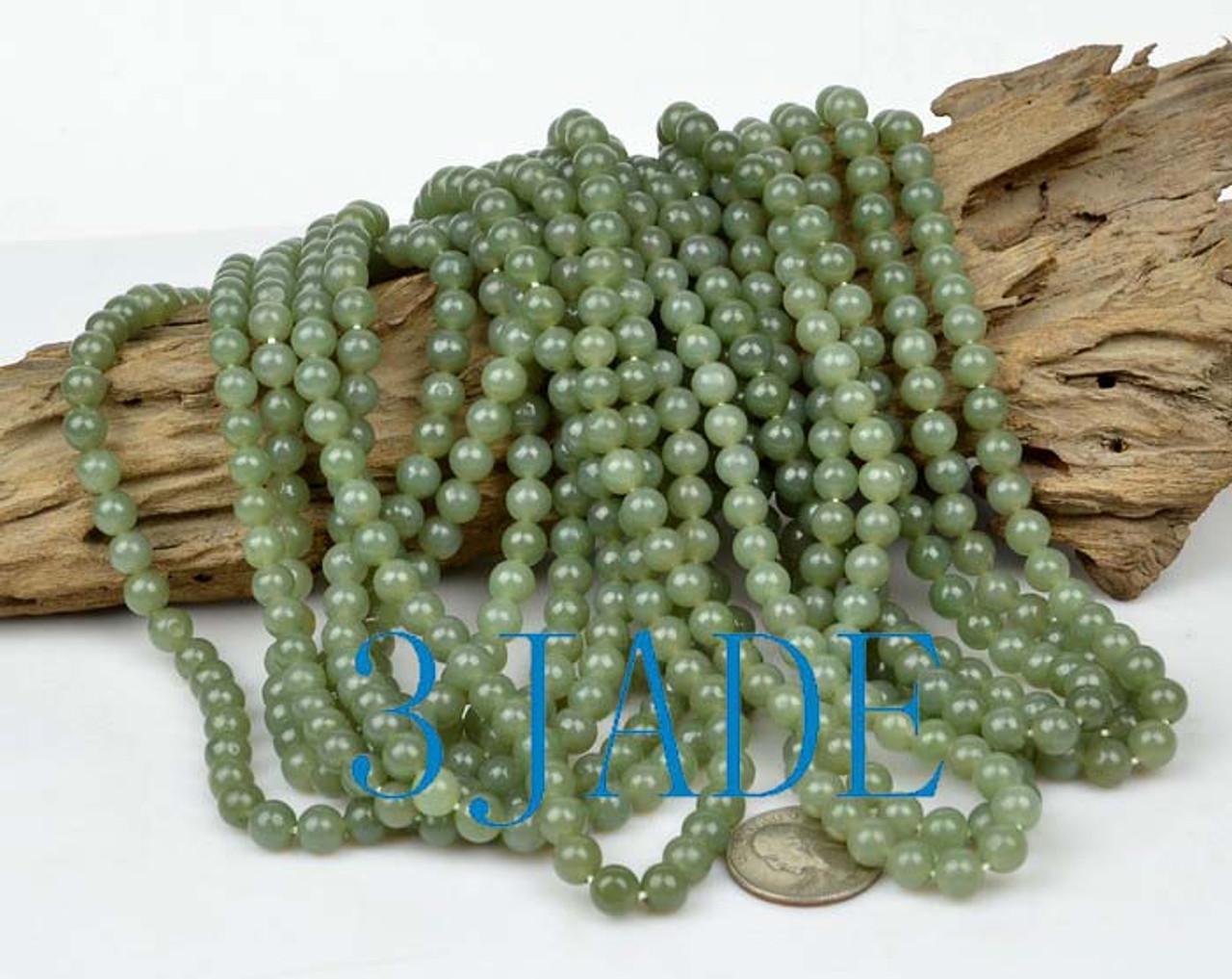 nephrite jade necklace