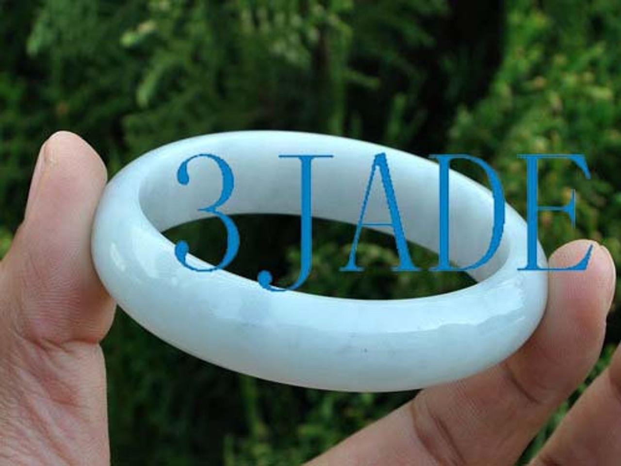 57mm A grade jadeite jade bangle