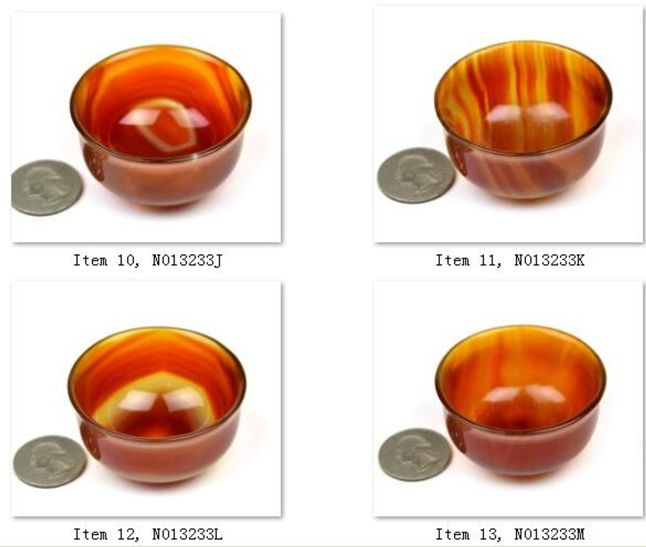 Carnelian / Red Agate Bowl