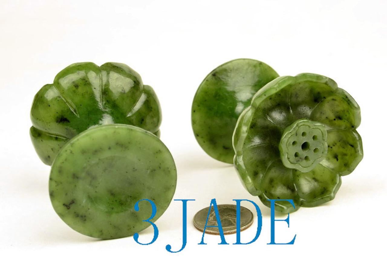 Jade Lotus Incense Burner