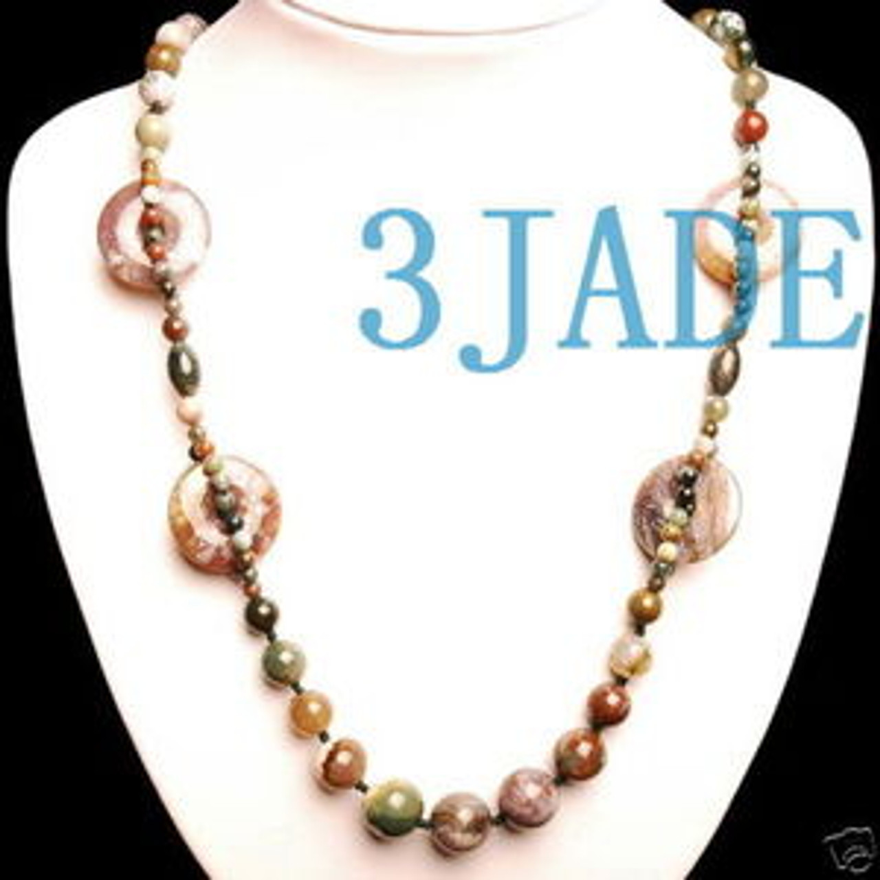 Multicolor Beads Necklace