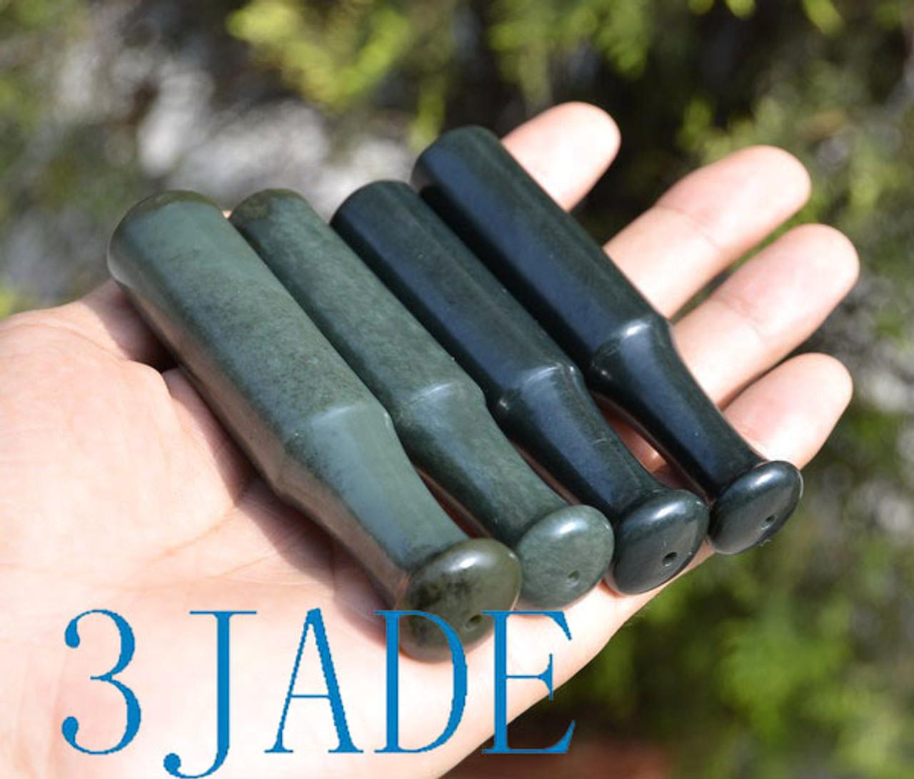 Jade Tobacco Pipe Bit