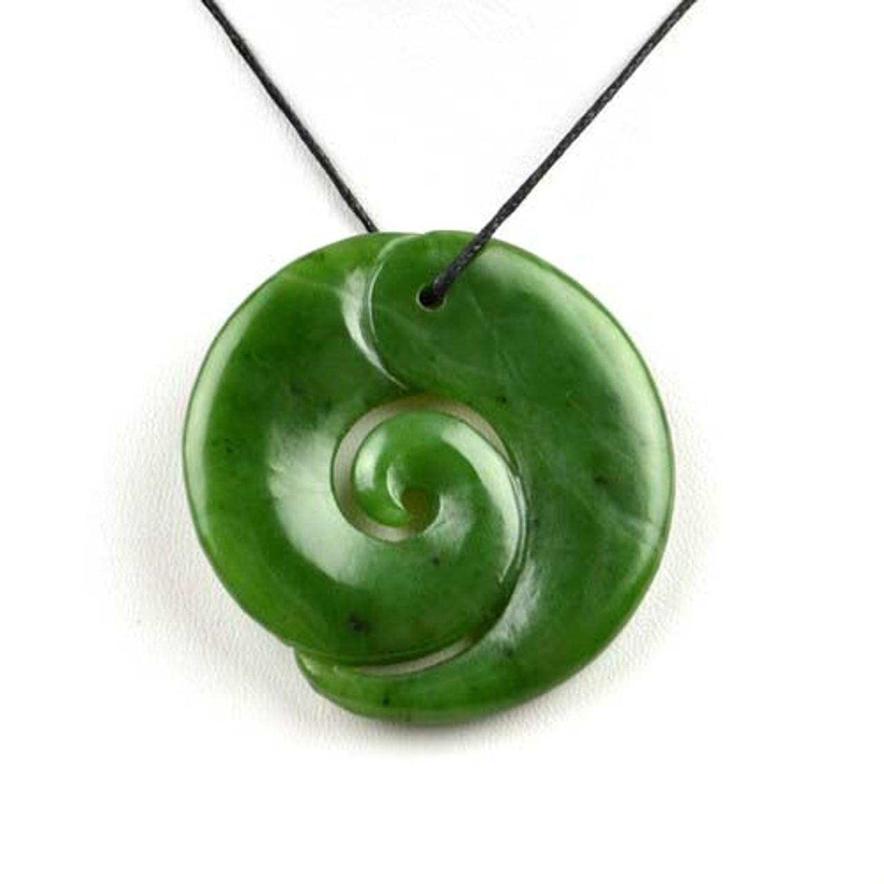 green jade Koru