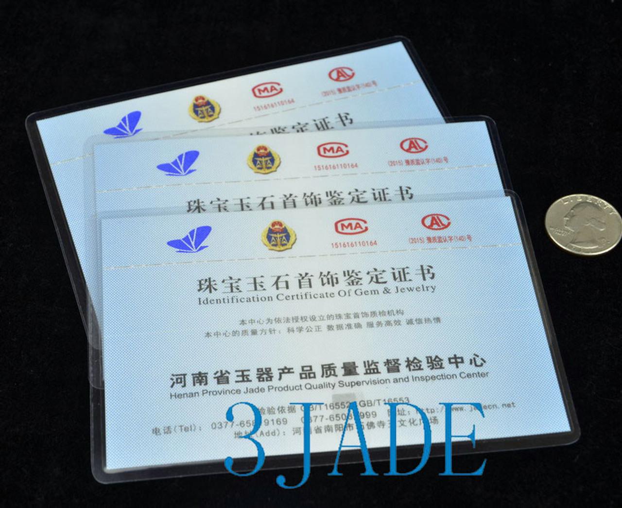 Two Prong Celadon Jade Maori Fish Hook Design Hair Stick /Comb/Fork /Hairpin w/ certificate