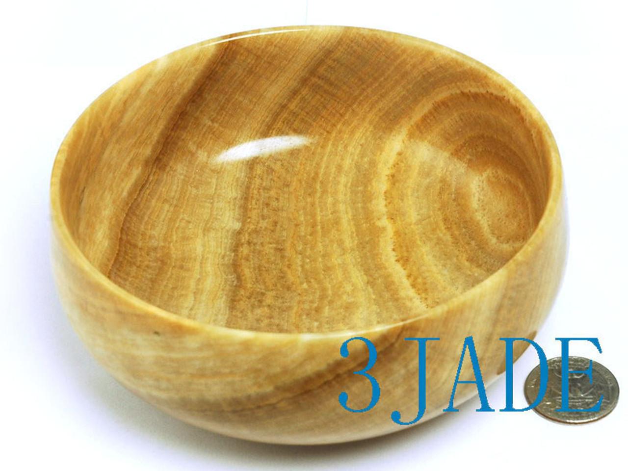 large grainstone bowl