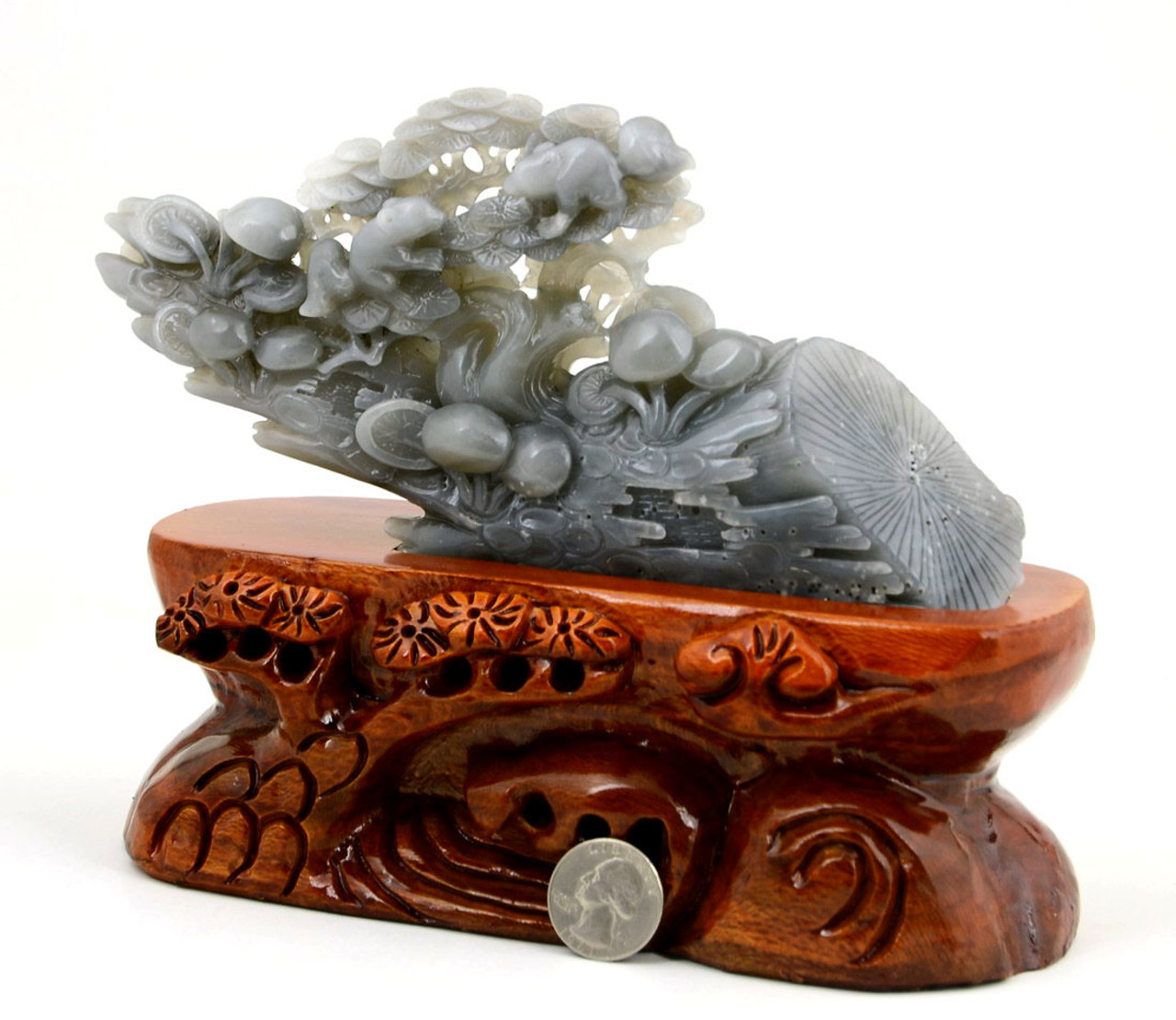Hand Carved Jade Tree