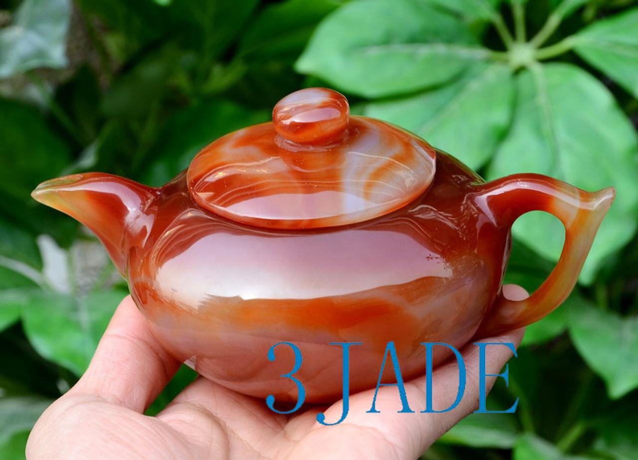 stone Chinese teapot