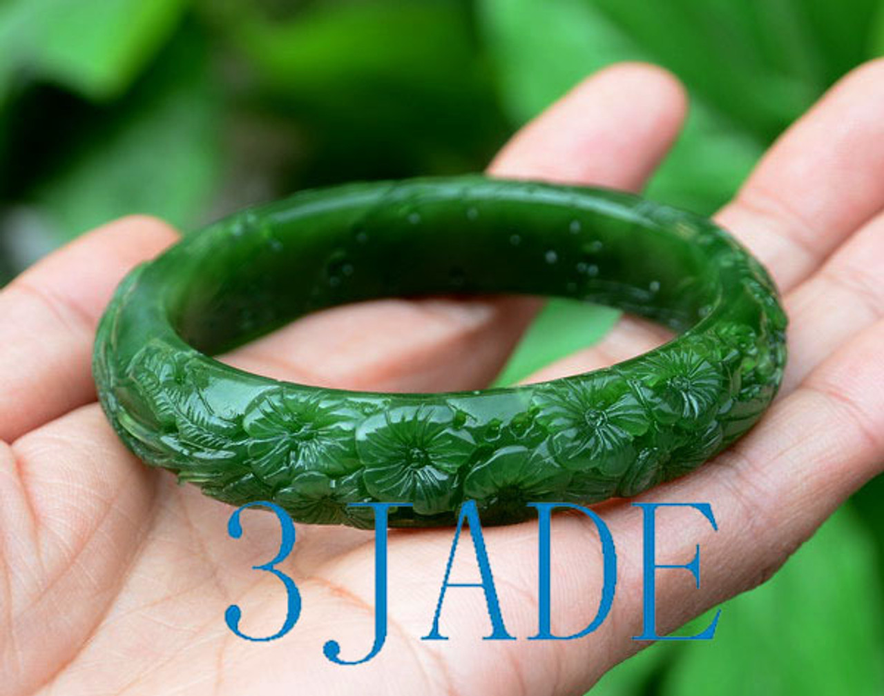 60mm jade bangle