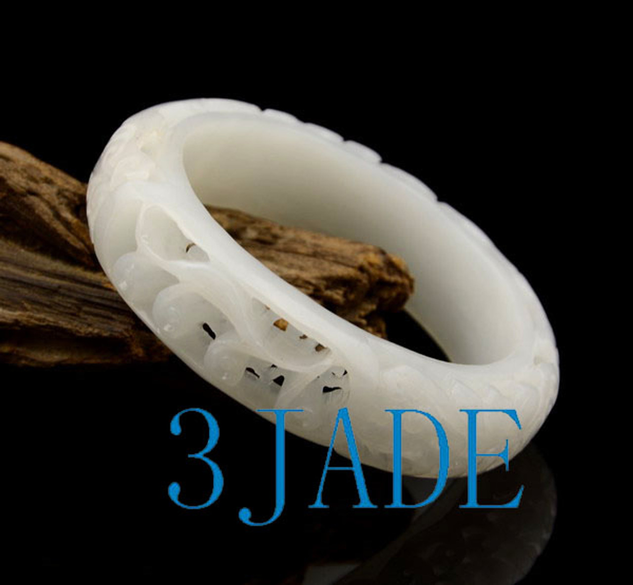58mm Hetian jade bangle