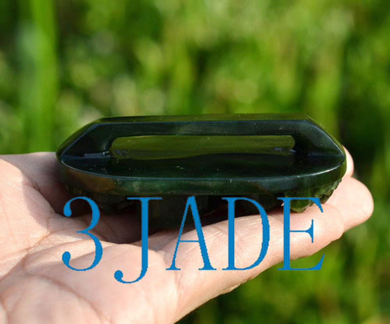 Gemstone Belt Buckle