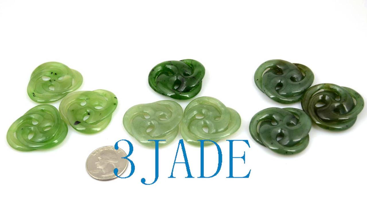 Jade Celtic Knot Necklace