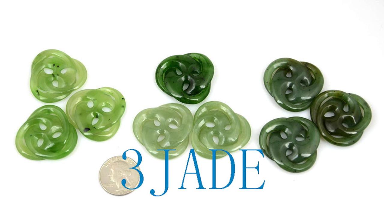 Jade Celtic Cross Necklace