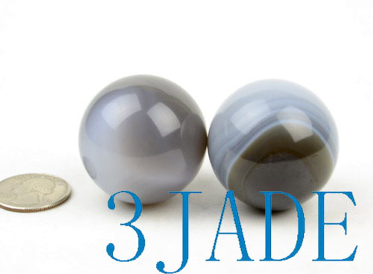 Banded Agate Ball Crystal Healing