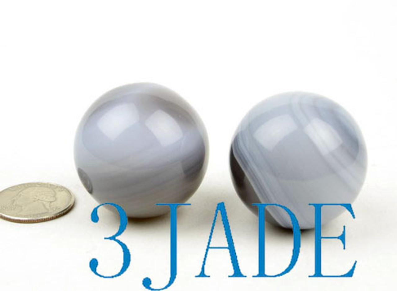 Striped Agate Ball Crystal Healing