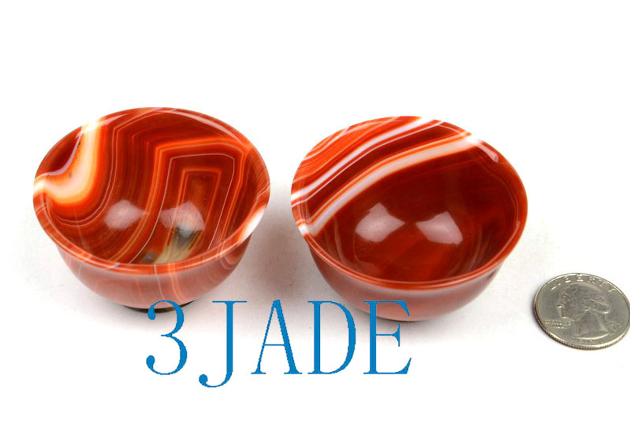 Red Agate Small Bowl