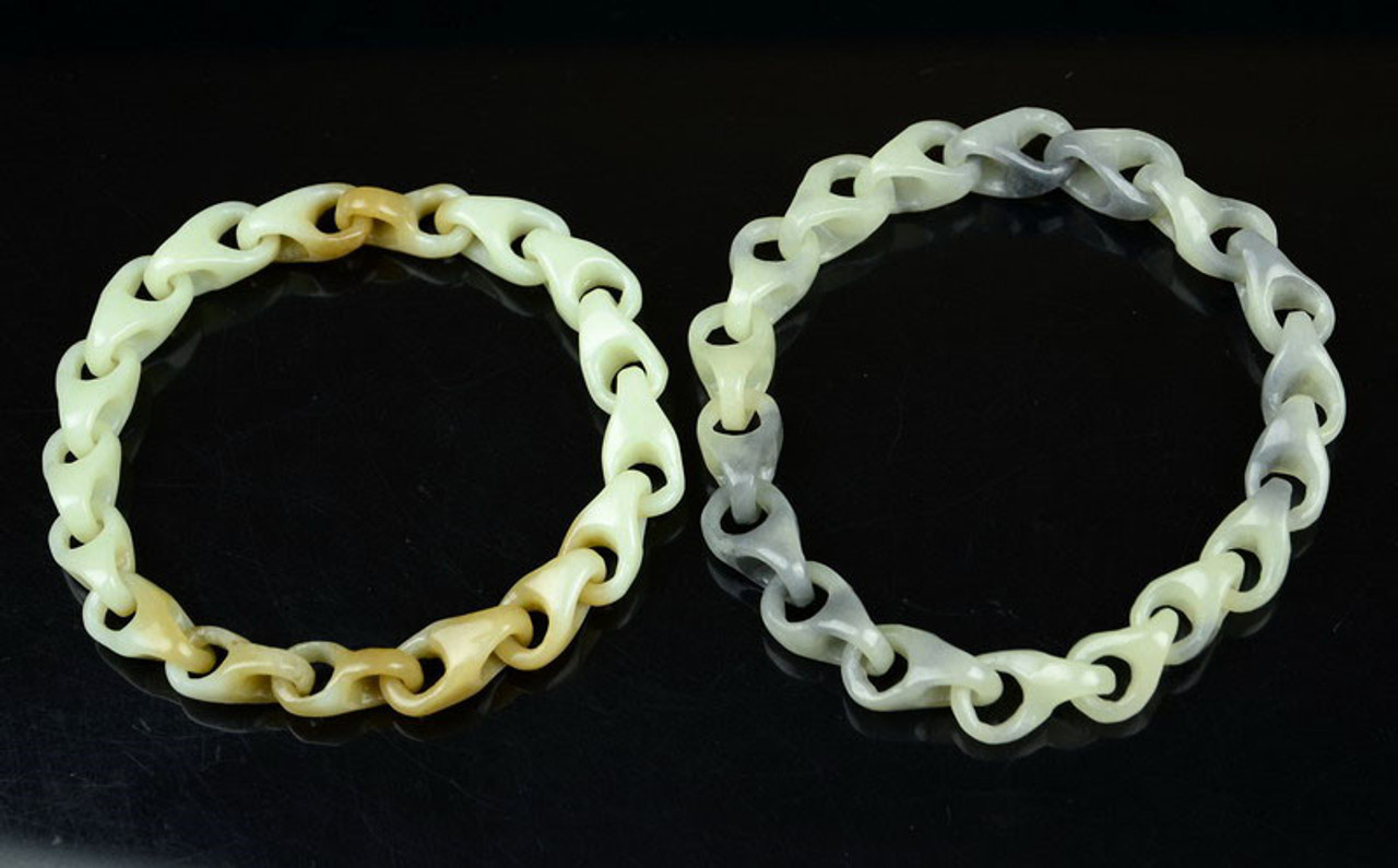 Hand Carved Jade Chain