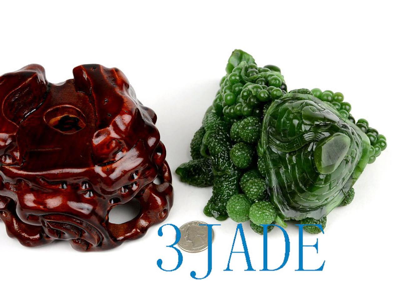 Russian Siberian Jade Carving