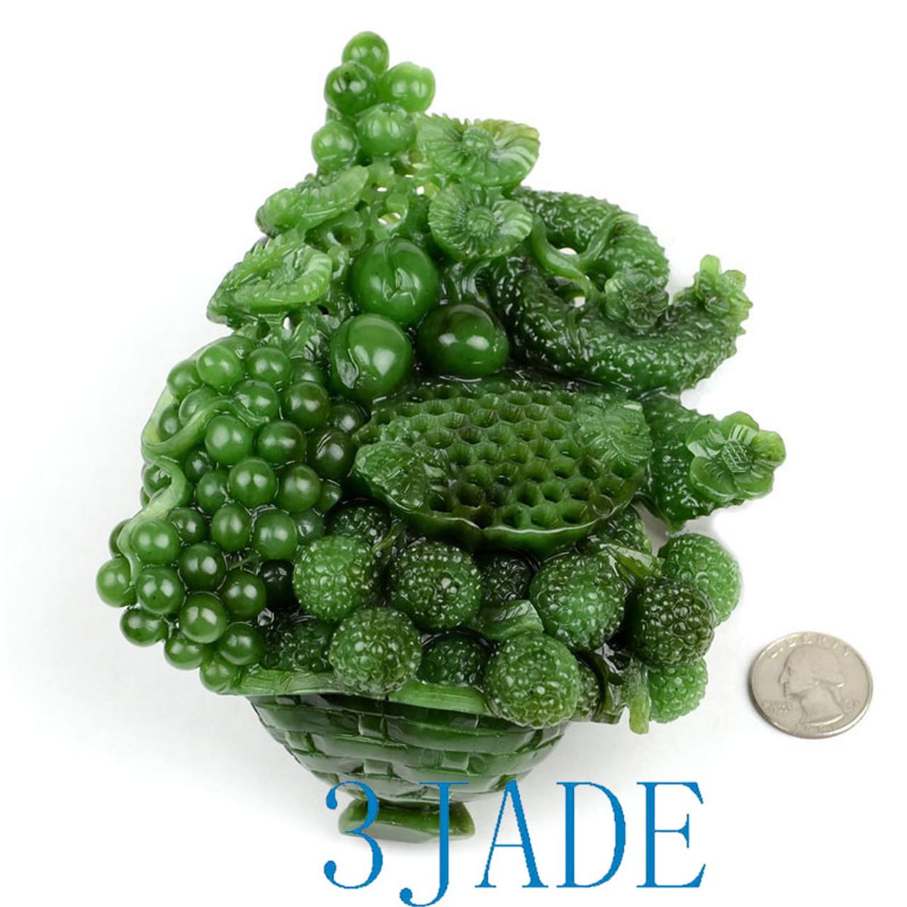 Russian Siberian Jade Sculpture