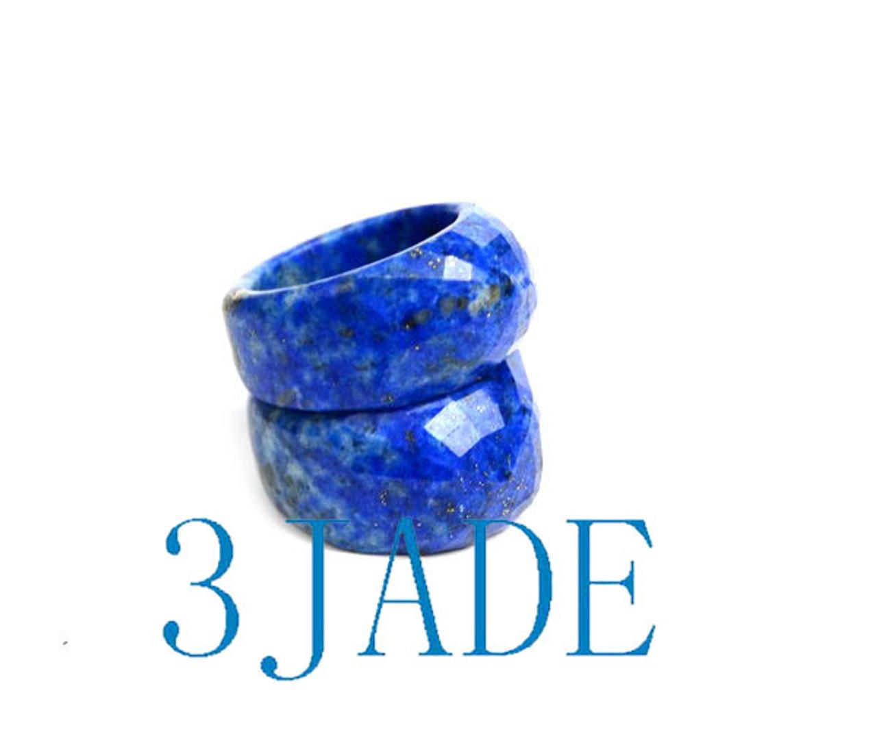 Faceted Lapis Lazuli Ring