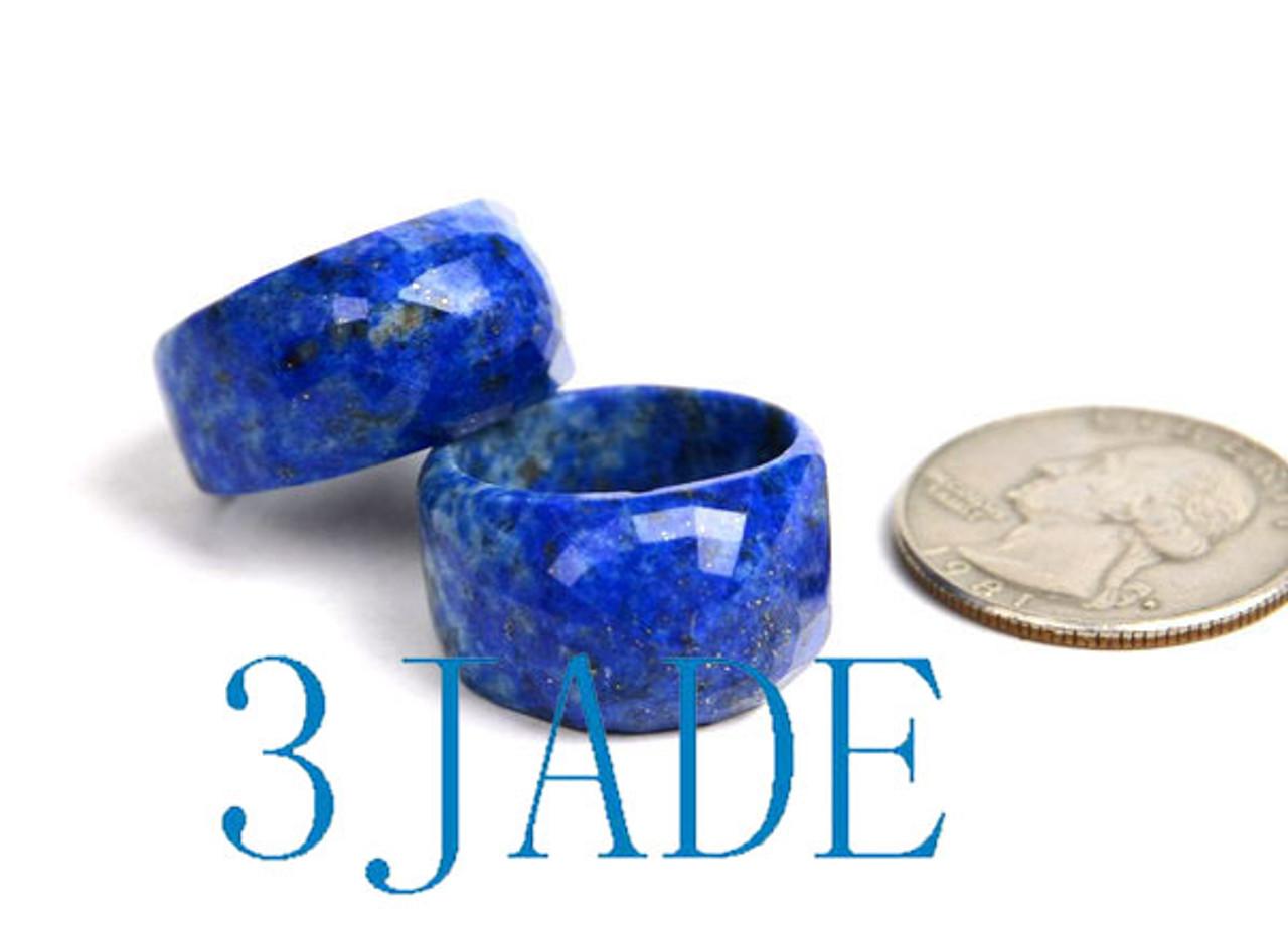 Lapis Lazuli Saddle Ring